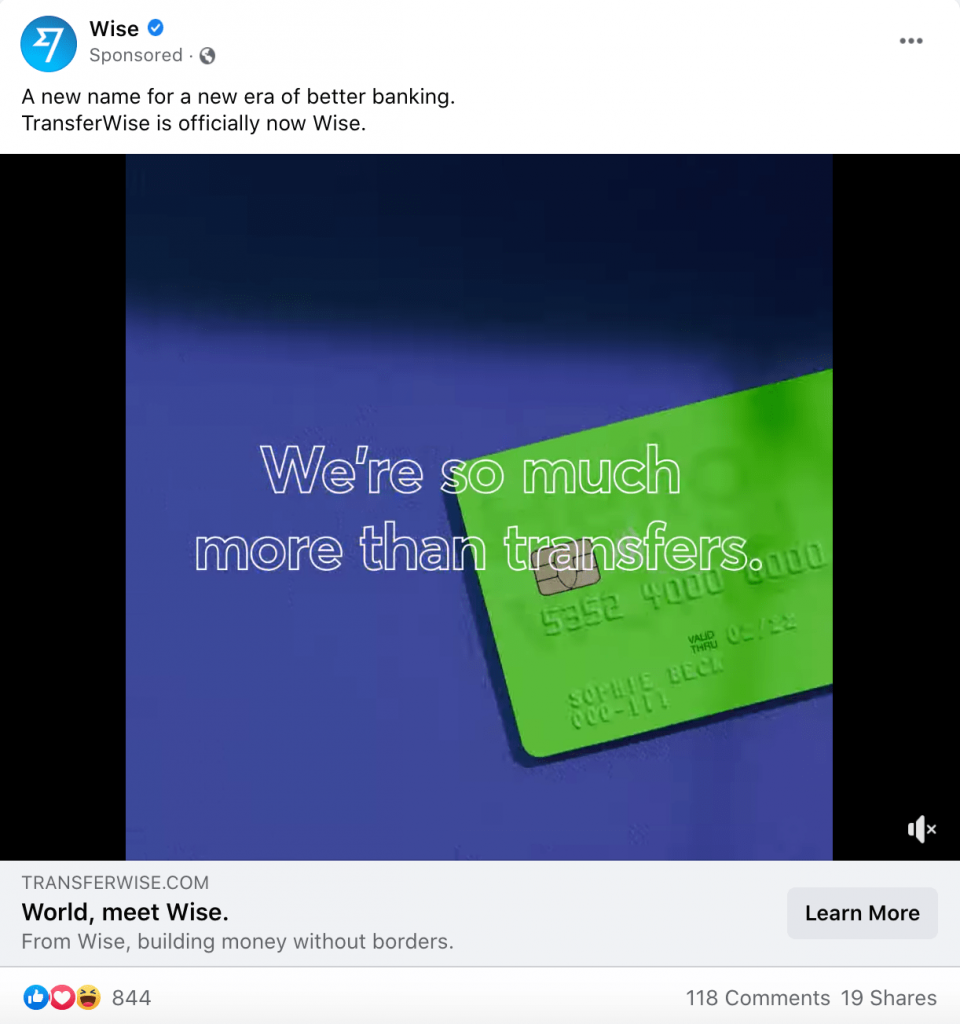 Example of a Facebook Ad